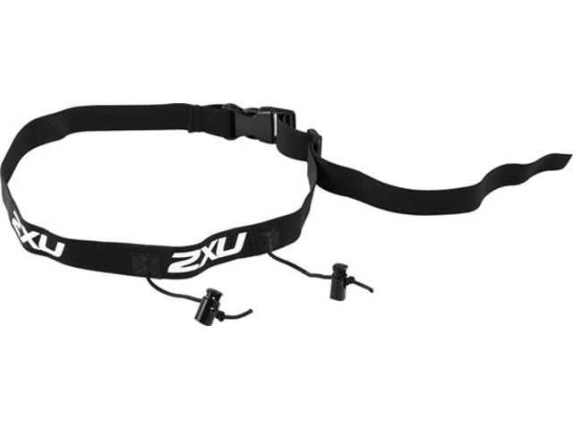 2XU Race Belt Black/Black
